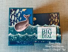 Whale of a Time Z-fold Birthday Card - Stamp Know How