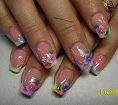 How to choose your fake nails? - My Nails Nail Designs Spring, Nail Art Designs, Trendy Nails, Cute Nails, Hair And Nails, My Nails, Nail Decorations, Christmas Nail Art, Flower Nails