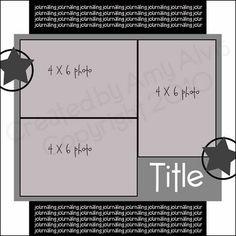 4x6 photo sketch blog
