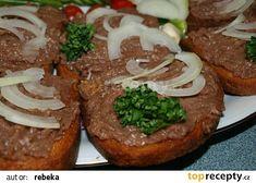 Tatarák recept - TopRecepty.cz Baked Potato, Potatoes, Baking, Ethnic Recipes, Bread Making, Patisserie, Potato, Backen, Baked Potatoes