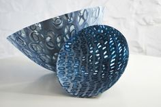Amanda Simmons, Expansion Theories Duo, kiln formed glass. Saw these  at Lustre in Nottingham today and loved them