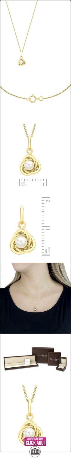 Carissima Gold Collar de mujer con oro amarillo de 9 quilates (375/1000), perla, 46 cm  ✿ Joyas para mujer - Las mejores ofertas ✿ ▬► Ver oferta: https://comprar.io/goto/B00878YDZU