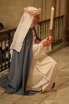 Bride of Christ Catholic Art, Catholic Saints, Roman Catholic, Daughters Of Charity, Nuns Habits, Religion, Bride Of Christ, Santa Teresa, Kirchen