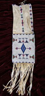 Northern Arapaho Pipe Bag  1880s