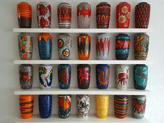 West German pottery, Scheurich floorvase 517-38