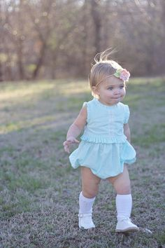 a542320394e5 Lucerne Romper and Dress pattern for babies in sizes Newborn up to size 4  years Little
