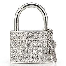 Add our stunning Padlock Trinket Box with Key to your collection of treasured miniatures.