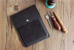 Leather iPad mini case iPad air  iPad case 13 macbook by SoGoods, $28.00