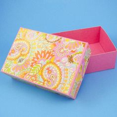 Make your own custom sized box out of cardstock or poster board.
