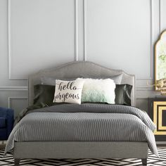 Found it at Joss & Main - Yvette Upholstered Platform Bed