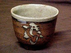 Tea Bowl Hamada Shōji  (Japanese, 1894–1978) Date: ca. 1935 Medium: Stoneware Dimensions: H. 3-1/8, W. 4-1/2 inches (7.9 x 11.4 cm) Classifi...