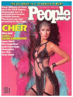 Cher on People magazine cover.