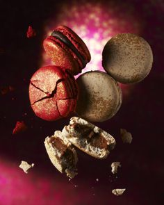 PIERRE HERME. Foie Gras macarons: Chocolate & Foie Gras, and Wildrose hip, Fig & Foie Gras (gift assortments start from £16 for 7 pieces)