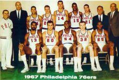 1967 Philadelphia 76ers - NBA Champions
