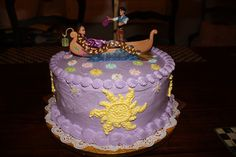 The Lemonista: A Tangled Birthday Party Cake ~ The Lantern Scene