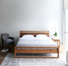 Modular Wooden Bed Frame Made of Solid Indonesian Teak Wood Available in King Size, Queen Size, & Single Bed. Modular Bed, Home, Bedroom Design, Furniture, King Size Bed Frame, Bedroom Sets, Contemporary Bed Frame, Bedroom Furniture, Wooden Bed Frames