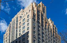 Art Deco ~ New York City | 241 Central Park West, Manhattan. Designed by Scwartz & Cross, 1931. Photo by Kenneth Grant.