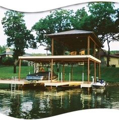 covered boat docks plans how to and diy building plans online class docks and decks pinterest the boat a house and lakes