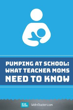 Pumping at School: What New Moms Need to Know. These tips are great for new teacher moms who are going back to school. Parents As Teachers, New Teachers, Maternity Leave Teacher, Pumping At Work, Letter To Parents, Going Back To School, Back To Work, School Teacher, Stress Relief