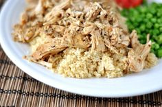 Healthy, flavorful, and simple beyond words, this slow cooker Mediterranean pork with couscous is a perfect solution to a frazzled weeknight dinner.