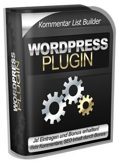 Kommentar List Builder WP Plugin LP - 4 Wochen gratis testen