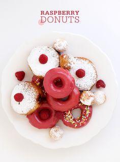Easy Homemade Raspberry Glazed & Jelly Filled Donuts
