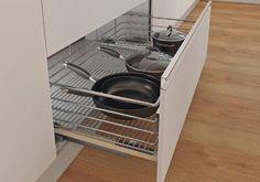 HSO194-40 CANASTA CACEROLERA H15 MÓDULO 400 MM Kitchen, Home, Ideas, Baskets, Steel, Interior Design, Furniture, Pictures, Cooking