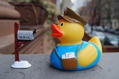 UPS duck