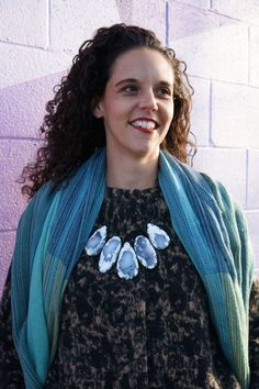 exploring the murals of Southwest Lancaster (while wearing a necklace OVER a coat) - MEGAN AUMAN Cozy Winter Fashion, Autumn Fashion, Confident Woman, Lancaster, Winter Coat, Warm And Cozy, Style Inspiration, Statement Necklaces, Winter Style