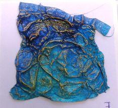 Textiles, Weaving Art, Fabric Manipulation, Handmade Beads, Fabric Art, Fabric Scraps, Textile Art, Altered Art, Fiber Art