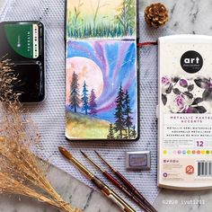 From Art Philosophy Brand Ambassador Iyut @iyut1211  Click to see all our watercolor products.  #artphilosophy  #primamarketinginc  #contentcreator #watercolor #art  #artist #illustration #painting  #artoftheday #artwork #creative  #ink #watercolorart #watercolorpainting #watercolourpainting  #arteducation #paintingmedia #painting #watercolorillustration   #watercolorpainting  #watercolorist #watercolorartist Watercolor Illustration, Watercolour Painting, Philosophy Brand, Brand Ambassador, Night Skies, Art Education, Art Day, Coloring Books, Chibi