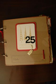 December Daily Album Cover (for 2008) by five4gena, via Flickr #December #Daily   Ali Edwards December Daily Project