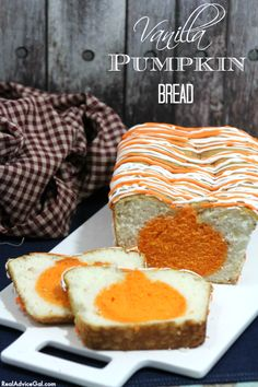 This Vanilla Pumpkin Bread recipe is so good and even perfect for the holiday season.