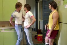 The movie convinced me that somehow, nothing is gayer than being a heterosexual man.