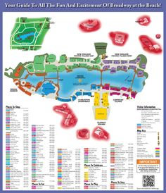 Broadway at the Beach Map - Great shopping, restaurants and fun at Broadway at the Beach in Myrtle Beach!