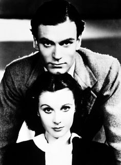 Sir Laurence Olivier and Vivien Leigh