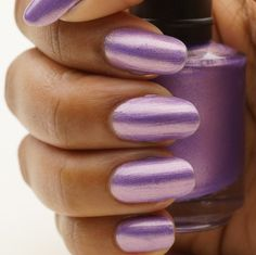 Rich Lilac by CanvasNails on Etsy