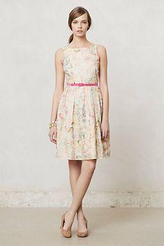 Sketched Arceau Dress #anthropologie