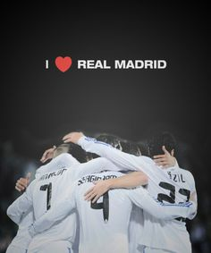 I love Real Madrid| Always will.... I'm a Madrid fan 4ever