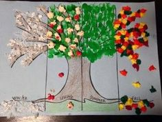 seasons preschool activities and crafts (4)                                                                                                                                                                                 More