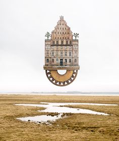 Image 2 of 11 from gallery of The Surreal Architectural Collages Of Matthias Jung. Photograph by Matthias Jung Collage Architecture, German Architecture, Art Du Collage, Create Collage, Inspiration Artistique, Surreal Photos, Photographs, Photo Vintage, Beautiful Collage