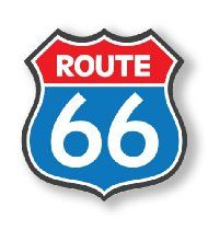 Route 66 Sign, Freight Truck, Portia De Rossi, Historic Route 66, Vintage Metal Signs, Garage Art, Lady And The Tramp, Old Signs, Street Signs