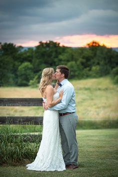Khimaira Farm great sunset pic by @nbpics @khimairafarm outdoor wedding venue rustic barn wedding goat farm wedding Luray VA Shenandoah Valley Blue Ridge Mountains