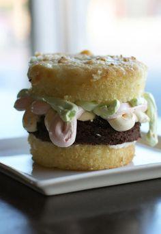 hamburger cupcake via Liberty Market, Gilbert, AZ