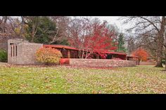 The Kenneth Laurent house and furnishings will be sold on December 15, 2011 during Wright's bi‐annual Important Design auction, a sale featuring more than 250 lots of exceptional mid‐century designs. The home and original Frank Lloyd Wright designed furnishings will be estimated at $500,000 ‐ $700,000. The sale will be conducted with Diane Meltmar of Gambino Realtors of Rockford and in conjunction with Brian Kuzdas of RealEstateAuctions.com.