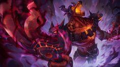 Infernal Nasus prepares to ascend   League of Legends