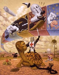 CLOWNS AND CRUSADERS BY TODD SCHORR
