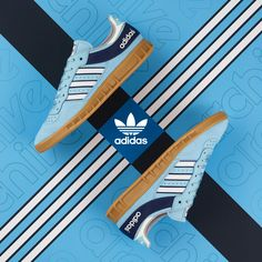 In October, adidas Originals reissued the Handball Top, a performance silhouette from The sneaker is now hitting the racks in a fresh a colorway, exc Cute Sneakers, Sneakers For Sale, Best Sneakers, Shoes Sneakers, Adidas Originals, Basket Tennis, Football Casuals, Sneaker Magazine, Retro Shoes