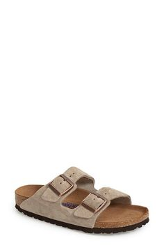 Birkenstock+'Arizona'+Soft+Footbed+Suede+Sandal+(Women)+available+at+#Nordstrom