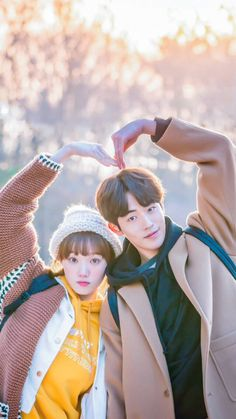 Nam Joo Hyuk ❤ Lee sung kyung high quality wallpapers~ follow me for more high quality photos